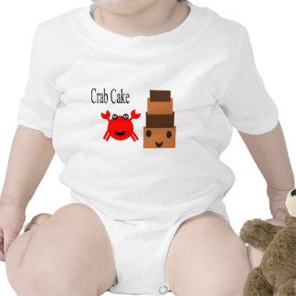 Torta de cangrejo trajes de bebé