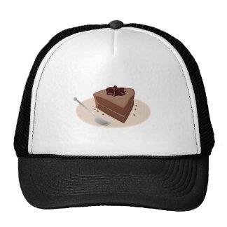 Torta de chocolate gorras de camionero