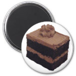 Torta de chocolate iman de nevera