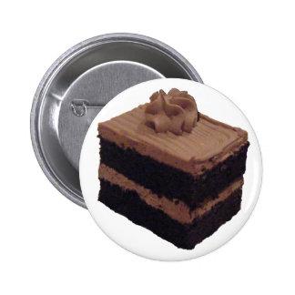 Torta de chocolate pin redondo de 2 pulgadas