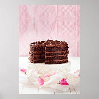 Torta de chocolate, Suráfrica Póster