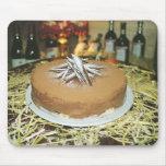 Torta de chocolate tapete de raton