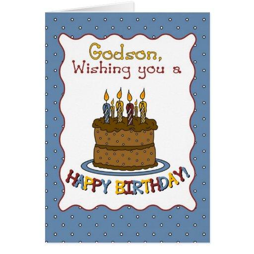 Torta de cumpleaños de 3292 ahijados felicitación