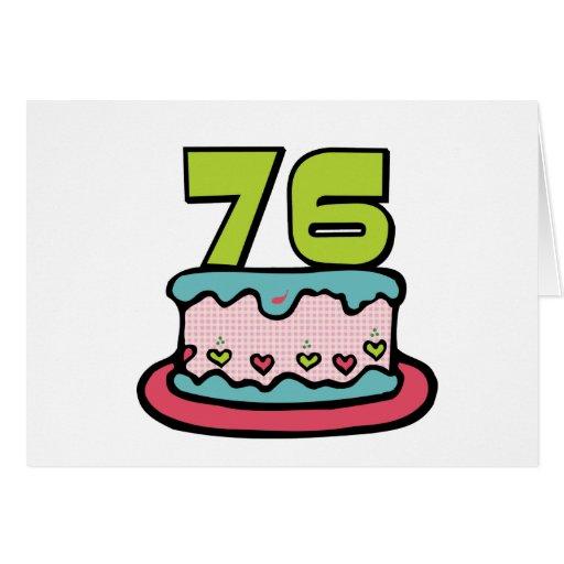 Torta de cumpleaños de 76 años felicitaciones