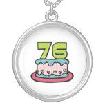 Torta de cumpleaños de 76 años joyería