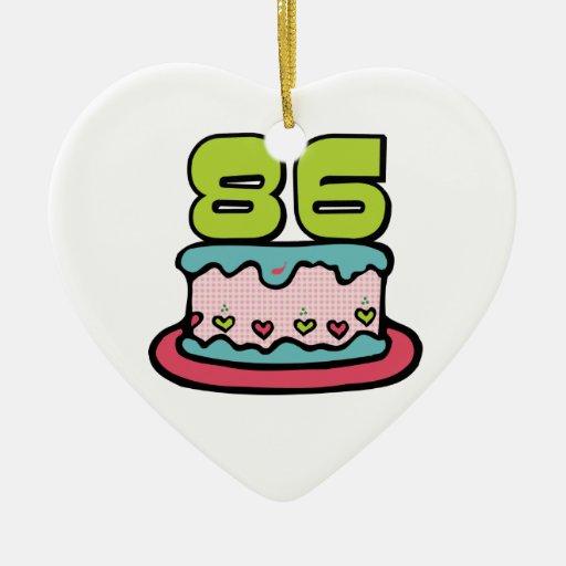 Torta de cumpleaños de 86 años ornamentos para reyes magos