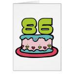 Torta de cumpleaños de 86 años felicitaciones