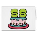Torta de cumpleaños de 88 años felicitaciones