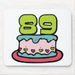 Torta de cumpleaños de 89 años tapetes de ratones