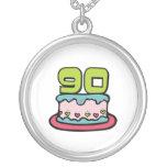 Torta de cumpleaños de 90 años joyeria