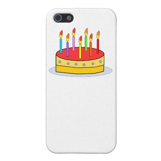 Torta de cumpleaños iPhone 5 fundas