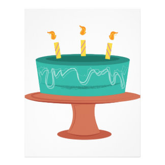 Torta de cumpleaños membretes personalizados