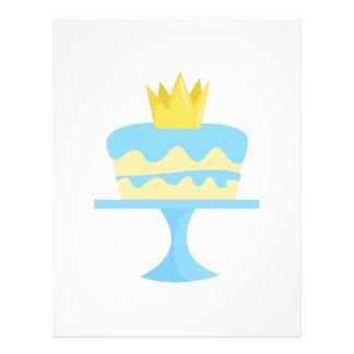 Torta de cumpleaños plantillas de membrete