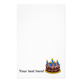 Torta de cumpleaños  papeleria de diseño