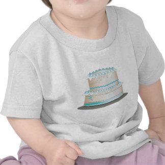 Torta de cumpleaños camiseta