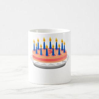 Torta de cumpleaños taza mágica