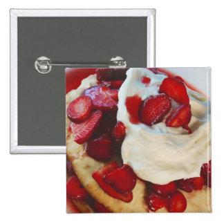 Torta de frutas de la fresa pins