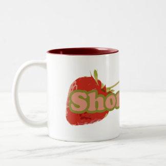 Torta de frutas tazas de café