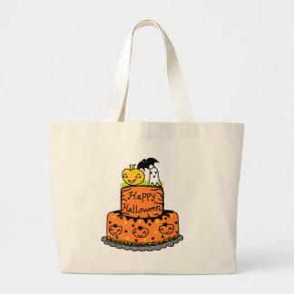 Torta de Halloween Bolsa Tela Grande