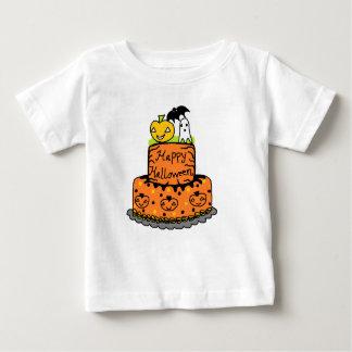 Torta de Halloween Playera De Bebé