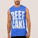 Torta de la carne de vaca - camisa del Bodybuildin