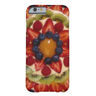 Torta de la fruta funda de iPhone 6 barely there