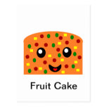 Torta de la fruta tarjetas postales