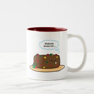 Torta de la fruta tazas de café