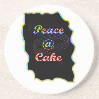 Torta de la paz A Posavasos Para Bebidas