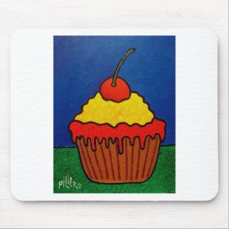 Torta de la taza por Piliero Mouse Pad