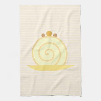 Torta de la vainilla toallas de mano