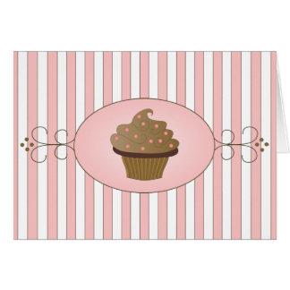Torta de lujo tarjeta pequeña