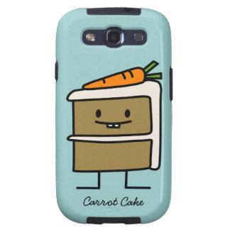 Torta de zanahoria galaxy s3 cárcasa