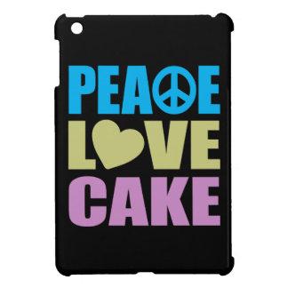 Torta del amor de la paz iPad mini cobertura