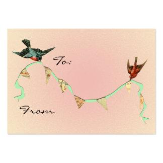 Torta del ángulo a de tarjeta tarjetas de visita