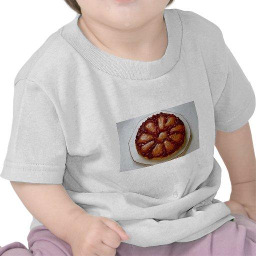 Torta del arándano y de la pera camiseta