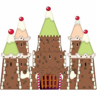 Torta del castillo de FairyTail Esculturas Fotográficas