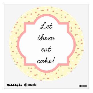 Torta del confeti  • El helar amarillo de Buttercr