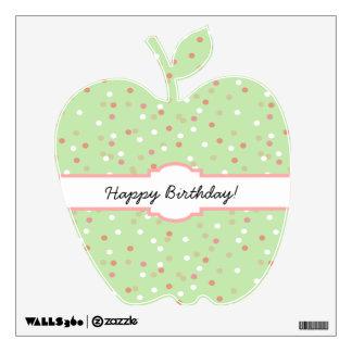 Torta del confeti • El helar verde de Buttercream Vinilo