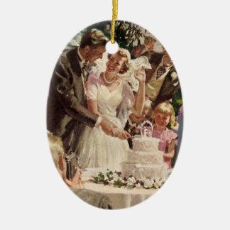 Torta del corte de los recienes casados del novio  ornatos
