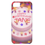 Torta del cumpleaños de Jane