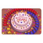 Torta del cumpleaños de Jean Iman Flexible