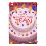 Torta del cumpleaños de Jean iPad Mini Cárcasas