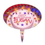 Torta del cumpleaños de Susan Decoraciones Para Tartas