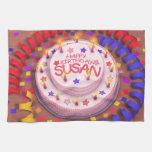 Torta del cumpleaños de Susan Toalla De Mano