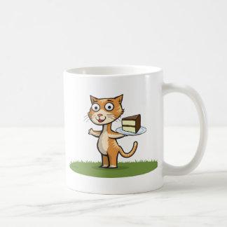 Torta del gato taza