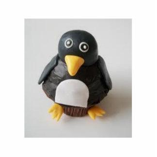 torta del pingüino fotoescultura vertical