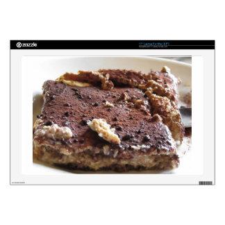 Torta del Tiramisu. Postre clásico italiano Portátil Calcomanía