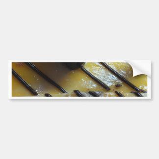 Torta dulce etiqueta de parachoque