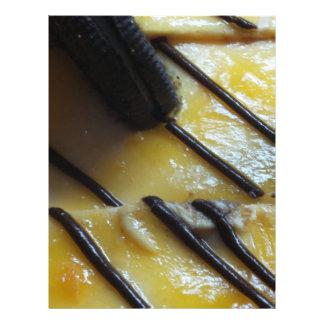 Torta dulce tarjetones